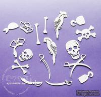 Чипборд от Wycinanka - Пиратский набор Kapitan Hak - ScrapUA.com