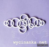 Маска-шаблон от Wycinanka - Бордюр - Кольца, 1 эл.