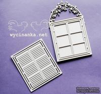 """Чипборд от Wycinanka """"BLUEBERRY SWIRLS"""" - tr?jwarstwowe okno, 7x11,5см"""
