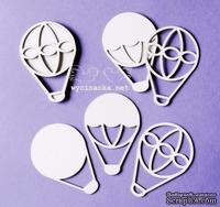"""Чипборд от Wycinanka """"balony 3D"""", 4,3x6,3см - ScrapUA.com"""