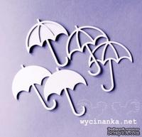 Чипборд от Wycinanka -  Зонтики 2, 6 шт.