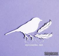 Чипборд от Wycinanka - Птица и перышки