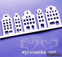Шаблон(маска) от Wycinanka  - Каменные дома