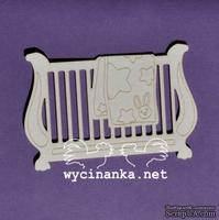 Чипборд от Wycianka - Дорогие малыши - кроватка, 1 дет.