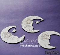 Чипборд от Wycianka - Дорогие малыши - полумесяцы, 3 дет.
