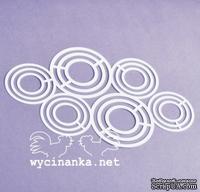 Маска-шаблон от Wycinanka - Фон из кругов 1