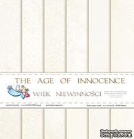 Набор бумаги Galeria Papieru - The Age of Innocence  - Wiek niewinności, 30,5 x 30,5 см, 12 листов