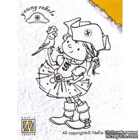 Акриловый штамп Nellie Snellen - Clear Stamps - Young Rebels Parrot