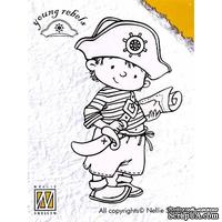 Акриловый штамп Nellie Snellen - Clear Stamps - Young Rebels Brave Captain