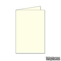 Заготовка для открытки Tall, 10х15, цвет слоновая кость, 1 шт.