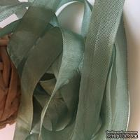 Лента Seam Binding Metal Green, ширина 14мм, длина 90см