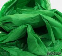 Папиросная бумага тишью 50х70 см  (слож.12,5 х 19см), цвет: зеленый, 10 листов