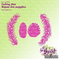 Нож для вырубки от AgiArt - Веточки с шишками