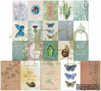 """Набор карточек от EcoPaper -  """"Среди лугов"""", 20шт."""