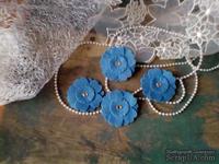 Набор цветов из фетра ручной работы-Avalanche - Blue