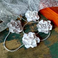 Набор бумажых цветов ручной работы-Avalanche - Delicacy