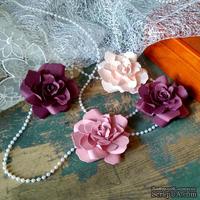 Набор бумажых цветов ручной работы-Avalanche - Amaranth