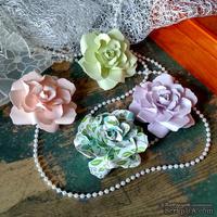 Набор бумажых цветов ручной работы-Avalanche - Spring