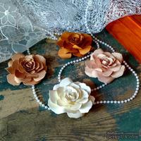 Набор бумажых цветов ручной работы-Avalanche - Olbia