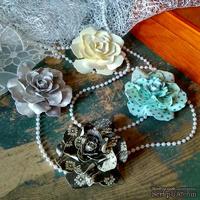 Набор бумажых цветов ручной работы-Avalanche - Silva