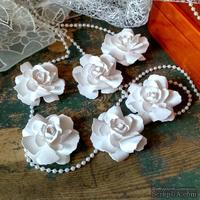 Набор бумажых цветов ручной работы-Avalanche - Wedding