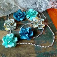 Набор бумажых цветов ручной работы-Avalanche - Labrador