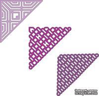 Нож для вырубки от Cheery Lynn Designs - Lace Corner Deco G