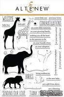 Набор штампов от Altenew - Baby Zoo - Зоопарк для детей, ALT1355
