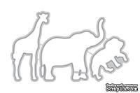 Ножи для вырубки от Altenew - Baby Zoo Die - Зоопарк для детей, 3 шт, ALT1143