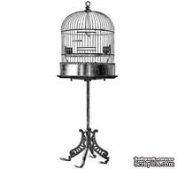 Акриловый штамп Bird Cage 1 Клетка для птиц, размер 8,5 * 3,1 см