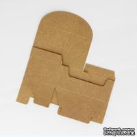 Коробочка упаковочная, крафт-картон, 9*5,5*3,8 см, 1 шт.