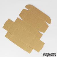 Коробочка упаковочная, крафт-картон, 9,3*5,7*3 см, 1 шт.