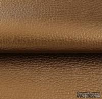 Экокожа, цвет - бронза, толщина 0.6 мм, 50Х70 см