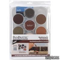 Набор PanPastel -PanPastel Ultra Soft Artist Pastel Set 9ml 7/Pkg -  коричневая гамма, 7 шт.