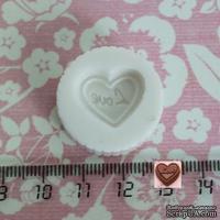"Силиконовая форма (молд) - Конфетка ""Love"", размер: 18 мм"