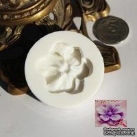Силиконовая форма (молд) - Цветок, размер: 40 мм