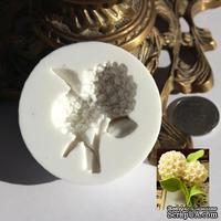 Силиконовая форма (молд) - Цветок, размер: 52х45 мм