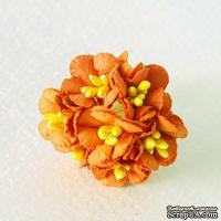 Лютики, цвет оранжевый, 7 шт.
