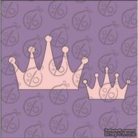 Чипборд. Набор корон №3, 5х3,5 и 3х2 см