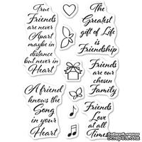 Штампы от Memory Box - Love and Friendship Clear Stamp Set