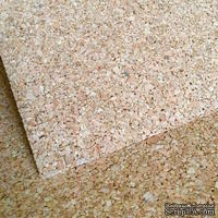 Корковый лист - Cork Sheet , 30х30 см, толщина 2 мм, 1 шт.