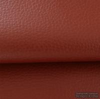 Экокожа, цвет - бордовый, толщина 0.6 мм, 50Х70 см