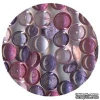 Прозрачные капли The Robin's Nest Dew Drops - Orchid, 6 мм, 250-270 шт.