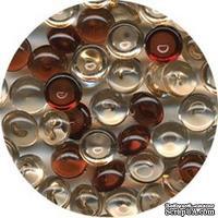 Прозрачные капли The Robin's Nest Dew Drops - Dark vanilla, 6 мм, 250-270 шт.
