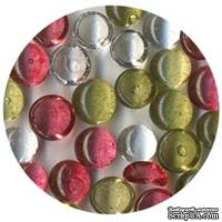 Прозрачные капли The Robin's Nest Dew Drops - Pointsetta, 6 мм, 250-270 шт.