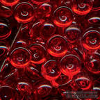 Прозрачные капли The Robin's Nest Dew Drops - z-robin's red, 6 мм, 50 шт