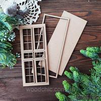 Заготовка набор Дверь от WOODchic, мдф 3мм, 21см