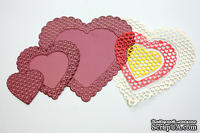 Набор лезвий Heart to Heart Doily от Cheery Lynn Designs