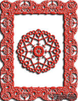 Лезвия Celtic Fire Rectangle от Cheery Lynn Designs
