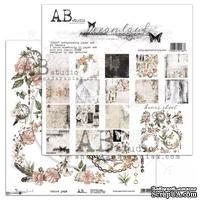 "Набор бумаги от ABstudio - ""Dreamland"" - Paper set 8x 30х30см + bonus"